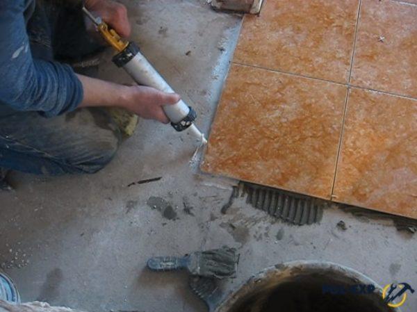 Дополнительная обработка герметиком