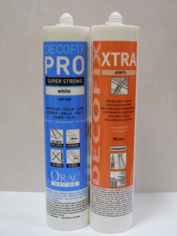 Клей монтажный DecoFix Pro, стыковочный DecoFix Extra