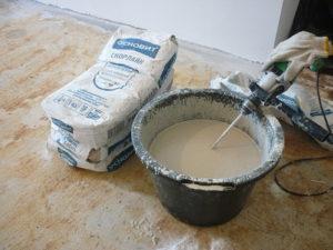 Неправильная пропорция воды и сухого ингредиента