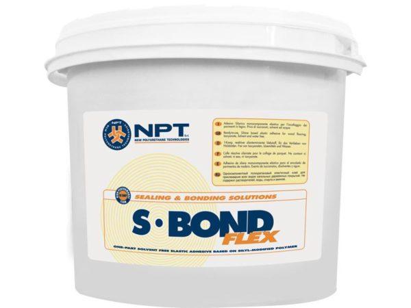 S Bond Flex однокомпонентный силановый паркетный клей NPT