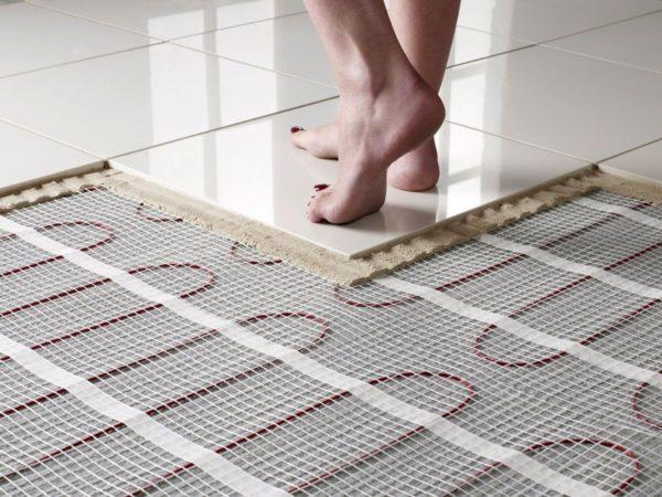 Электрический пол под плитку
