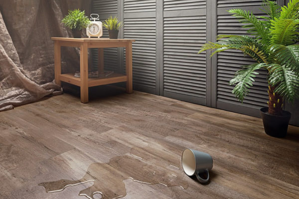 Водостойкое покрытие рекомендовано для прихожих, кухонь и ванных комнат