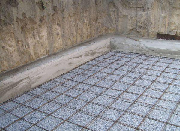 Армирующая металлическая сетка под стяжку