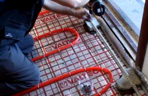 Подложка под ламинат для теплого пола водяного и электрического монтаж своими руками