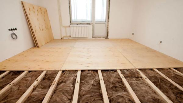 Утепление деревянного пола в квартире