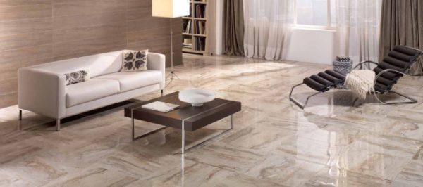 Керамическая плитка для гостиной