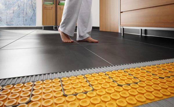 Керамическая плитка под теплый пол
