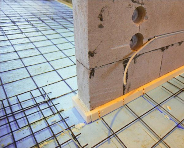 Теплоизоляция и армирование сеткой