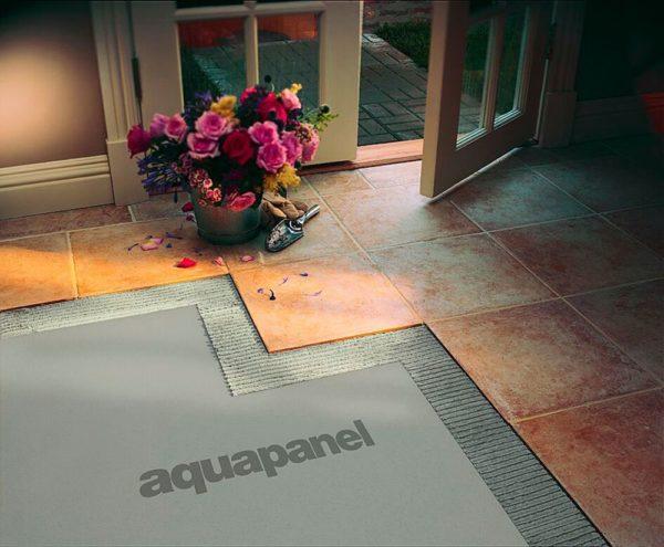 Цементно минеральные плиты Aquapanel
