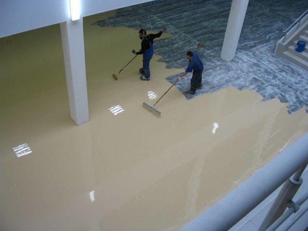 Процесс изготовления полиуретанового покрытия