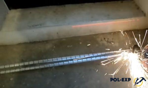 Нарезка металлопрофиля