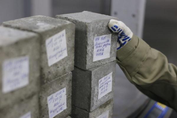 Определение марки бетона