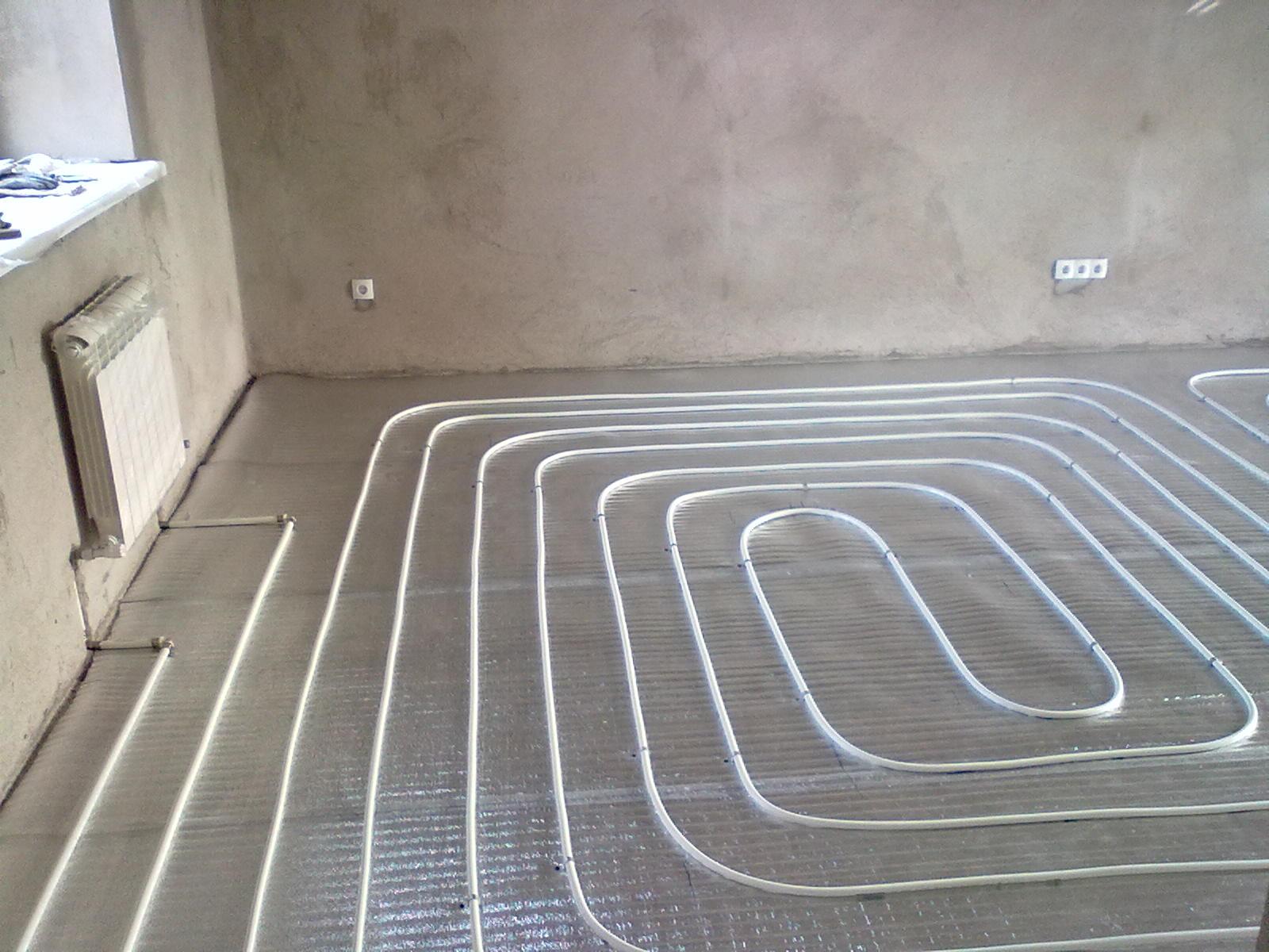 Монтажные схемы водяных теплых полов в квартире – варианты обустройства системы