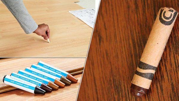 Восковый карандаш для ламината