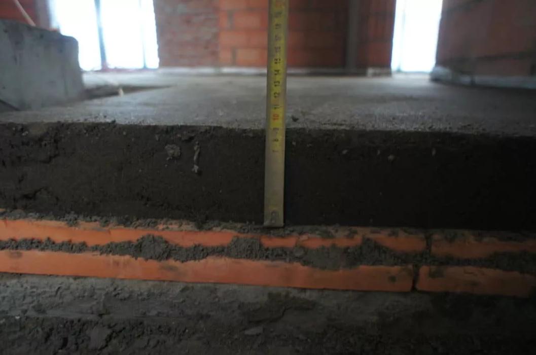 бетон на пеноплекс