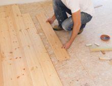 Настил деревянного пола по ОСБ плитам