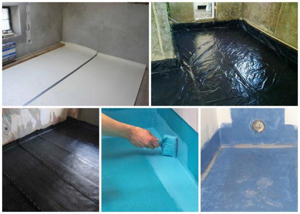 Способы гидроизоляции бетонного основания