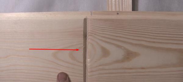 Фаски на поверхности плашек