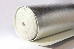 Вспененный полистирол с алюминиевым покрытием