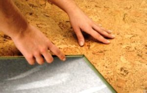 Плиты легко и без усилий встают паз в паз