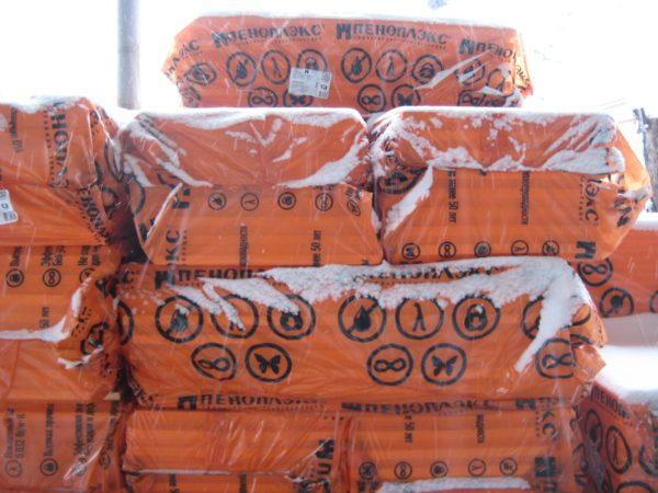 Хранится пеноплекс в герметичных плотных пакетах