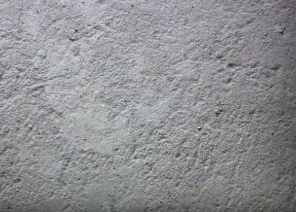 Такую поверхность образует бетон крупной фракции