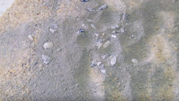 Преобладание песка в смеси говорит о некачественном составе