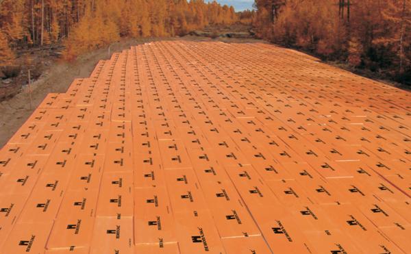Применение пеноплекса в дорожном строительстве