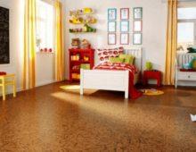 Пробка – безопасное и эстетичное решение для комнаты ребёнка