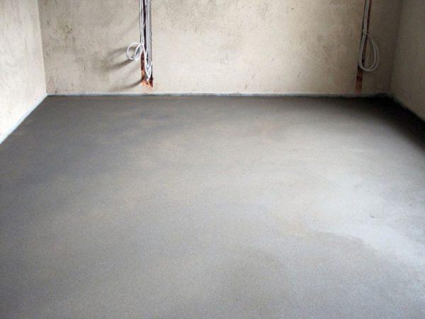 Цементная стяжка рекомендована специалистами