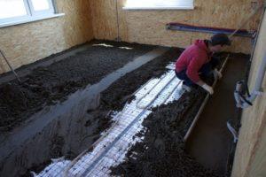 Полусухие цементно-песчаные растворы