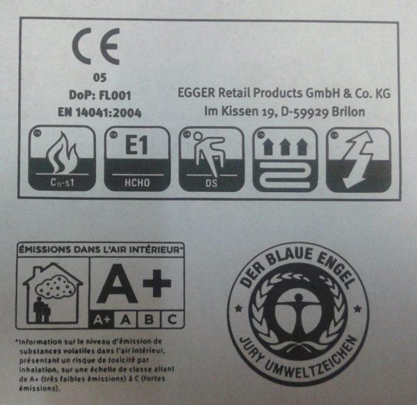 Маркировка на упаковке ламината поможет правильно выбрать материал