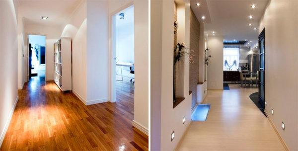 Ламинат выглядит естественно и создает уютную атмосферу в доме