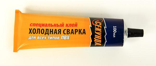 Холодная сварка для линолеума (специальный клей)