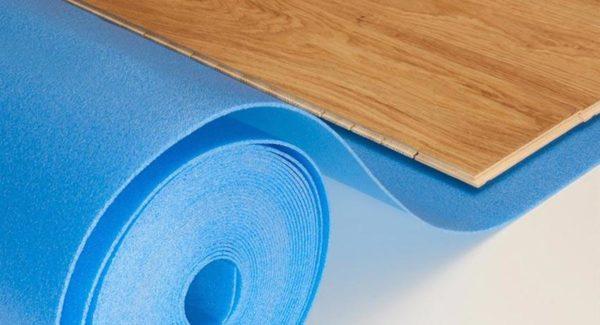 Подложка необходима для правильной укладки ламинированного покрытия