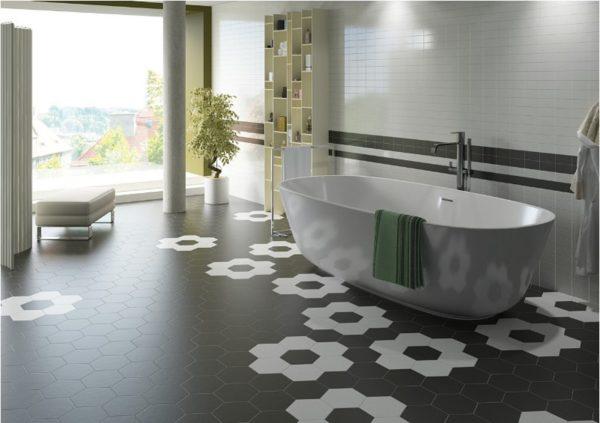 Напольное покрытие для ванной комнаты