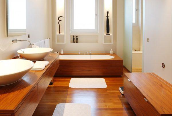 Интерьер ванной в минималистическом стиле