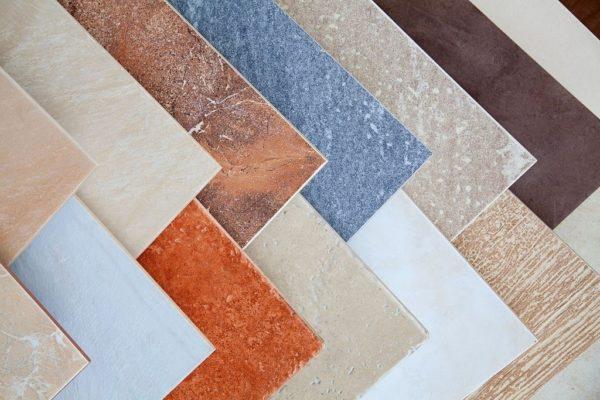 Разнообразие напольной керамики