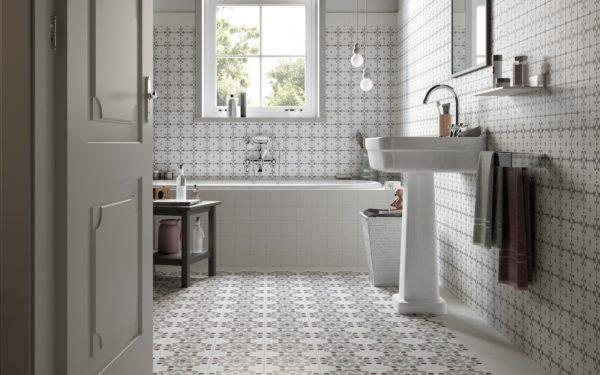 Скандинавский стиль оформления ванной
