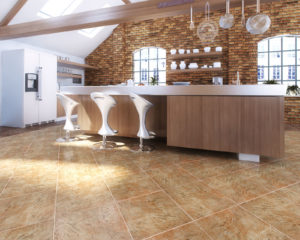 Керамогранит в интерьере кухниКерамогранит в интерьере кухни