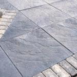 Открытая площадка, облицованная керамогранитной плиткой