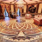 Элитный художественный дворцовый паркет