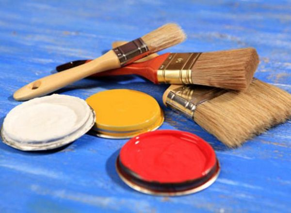 Кисти для покраски ламината