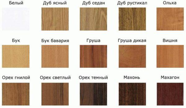 Основные цвета и фактуры современного ламината