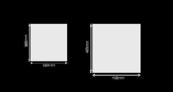 Распространенные размеры напольной плитки