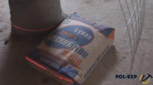 Керамзит и пескобетон, необходимые для работы
