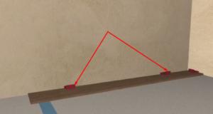 Укладка ламината с фаской