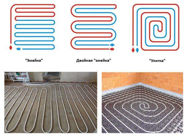 «Змейка» и «спираль» – оптимальные способы формирования контура