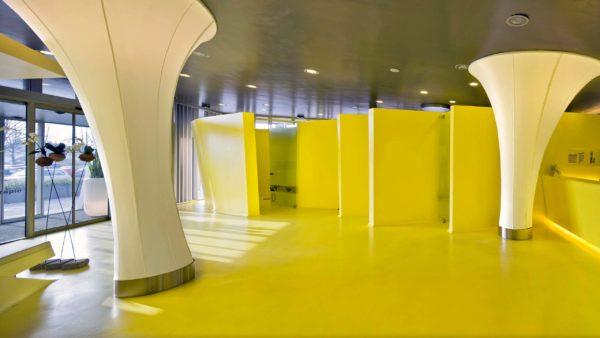 ММА покрытие в выставочном зале