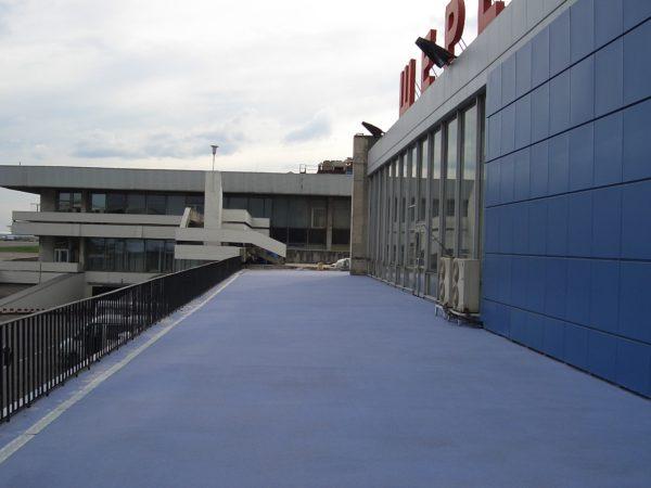 Применение ММА покрытия на открытом воздухе